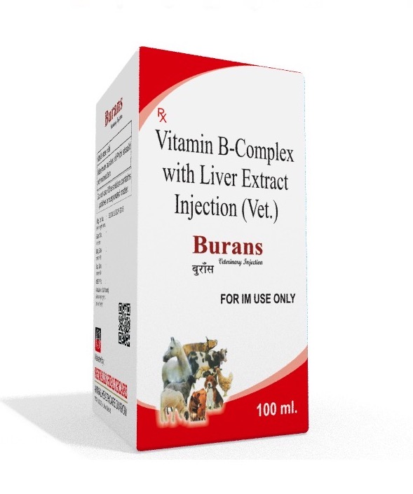Veterinary B-Complex & Liver Extract 100 ml Injection