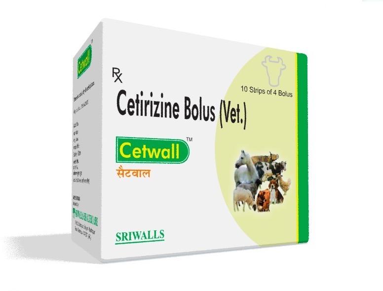 Veterinary Cetirizine Bolus