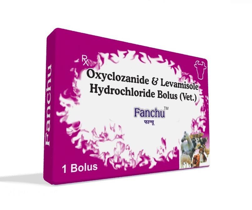 Veterinary Oxyclozanide & Levamisole Bolus