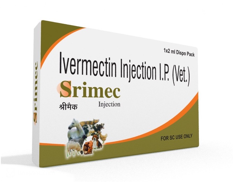 Veterinary Ivermectin 2 ml Injection