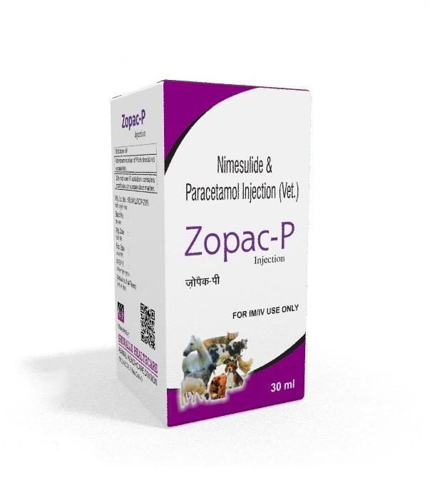 Veterinary Nimesulide & Paracetamol 30 ml Injection
